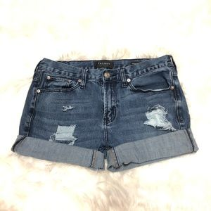 Pacsun distressed denim shorts
